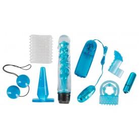 Голубой вибронабор из 8 предметов Blue Appetizer